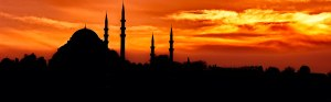 Süleymaniye Mosque at Sunset