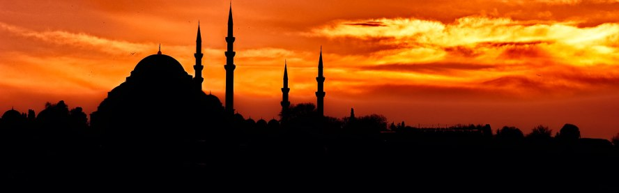 Süleymaniye Mosque at Sunset